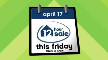 Ashley Furniture Homestore 12 Hour Sale TV Spot, 'Save Big' - 20 commercial airings