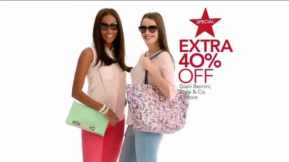 Macy S Super Saturday Sale Tv Commercial Friday And Saturday Specials Video