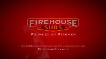 Firehouse Subs Turkey Bacon Ranch TV Spot, 'Delicioso' [Spanish] - Thumbnail 9