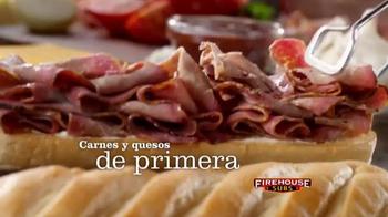 Firehouse Subs Turkey Bacon Ranch TV Spot, 'Delicioso' [Spanish] - Thumbnail 3