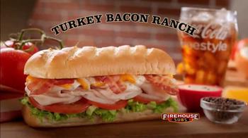 Firehouse Subs Turkey Bacon Ranch TV Spot, 'Delicioso' [Spanish] - Thumbnail 4