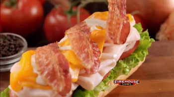 Firehouse Subs Turkey Bacon Ranch TV Spot, 'Delicioso' [Spanish] - Thumbnail 6