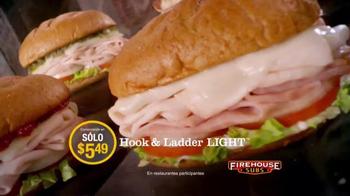 Firehouse Subs Turkey Bacon Ranch TV Spot, 'Delicioso' [Spanish] - Thumbnail 8