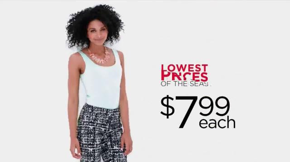 418dfb6b33f6d Kohl s Lowest Prices of the Season TV Commercial