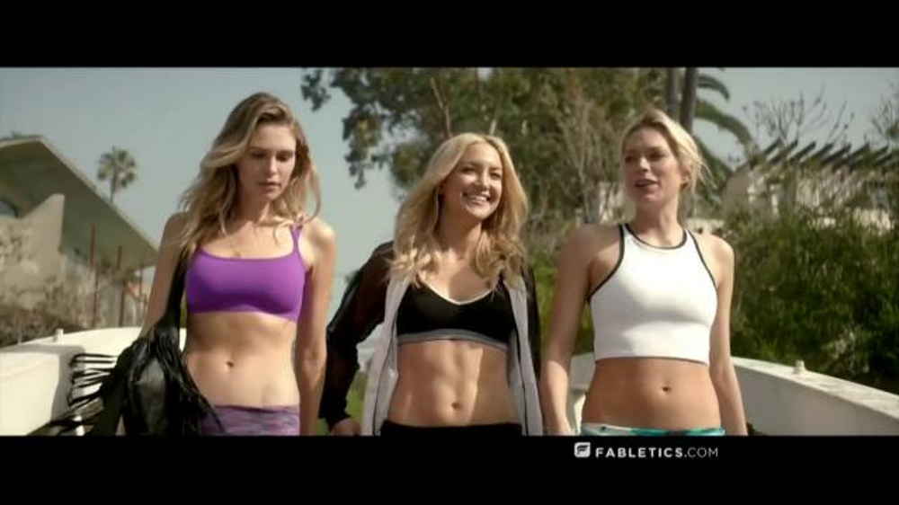 Fabletics.com TV Commercial, 'Fearless' Featuring Kate Hudson