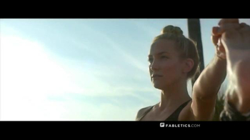 Fabletics.com TV Spot, 'Fearless' Featuring Kate Hudson - Thumbnail 2