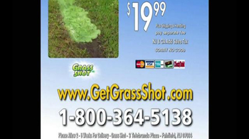 Grass Shot TV Spot, 'Spots' - Thumbnail 10