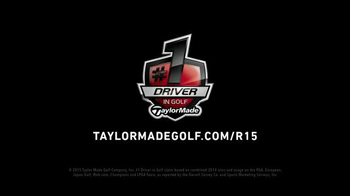 TaylorMade R15 TV Spot, 'Made of Greatness' Featuring Justin Rose - Thumbnail 7