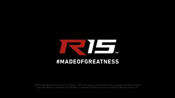 TaylorMade R15 TV Spot, 'Made of Greatness' Featuring Justin Rose - Thumbnail 6