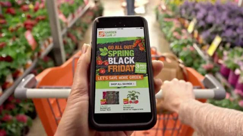 The Home Depot Spring Black Friday TV Spot, 'Celebrate Spring' - Thumbnail 2