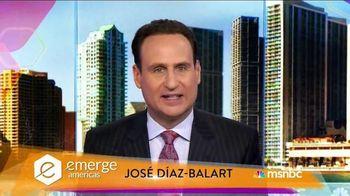 MSNBC Emerge TV Spot, 'Get Tickets Now' Featuring José Díaz-Balart - 50 commercial airings