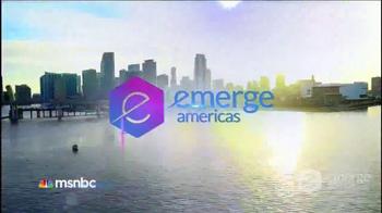 MSNBC Emerge TV Spot, 'Get Tickets Now' Featuring José Díaz-Balart - Thumbnail 2