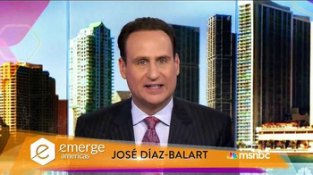 MSNBC Emerge TV Spot, 'Get Tickets Now' Featuring José Díaz-Balart - 50 commercial airings