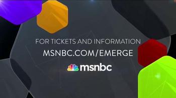 MSNBC Emerge TV Spot, 'Get Tickets Now' Featuring José Díaz-Balart - Thumbnail 9