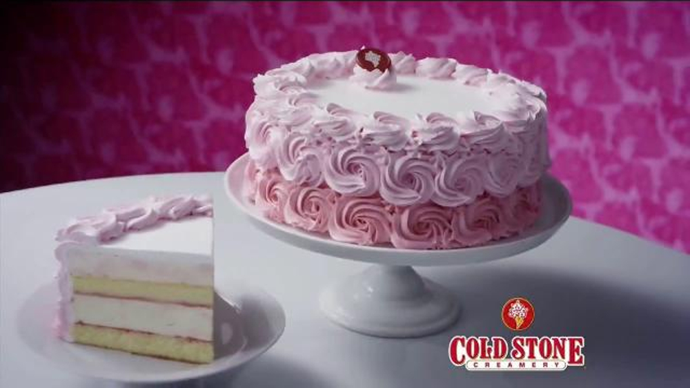 Cold Stone Creamery Strawberry Ice Cream Cake Tv