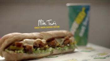 Subway Sweet Onion Chicken Teriyaki TV Spot, 'Mike Trout Documentary' - Thumbnail 6
