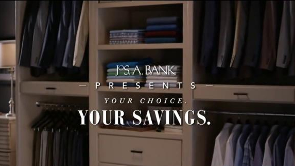 JoS. A. Bank TV Commercial, 'Your Choice. Your Savings.'