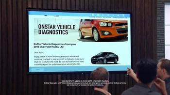 2015 Chevrolet Malibu TV Spot, 'Chevrolet Films: Too Much Information' - Thumbnail 7