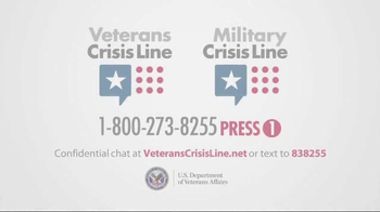 Veterans Crisis Line TV Spot, 'Lost in the Woods' - Thumbnail 8