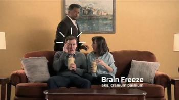 Zaxby's Birthday Cake Milkshake TV Spot, 'Brain Freeze' Ft. Alfonso Ribeiro - Thumbnail 2