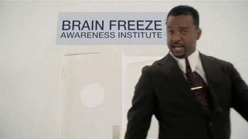 Zaxby's Birthday Cake Milkshake TV Spot, 'Brain Freeze' Ft. Alfonso Ribeiro - Thumbnail 4