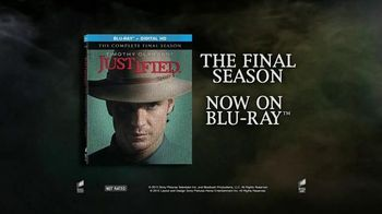 Justified: The Complete Final Season Blu-Ray and Digital HD TV Spot - 6 commercial airings