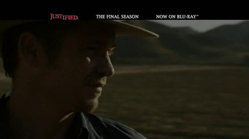 Justified: The Complete Final Season Blu-Ray and Digital HD TV Spot - Thumbnail 4