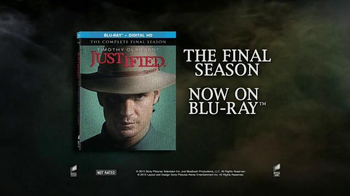 Justified: The Complete Final Season Blu-Ray and Digital HD TV Spot