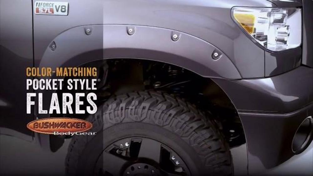 Bushwacker TV Commercial, 'Fender Flare Rebate'