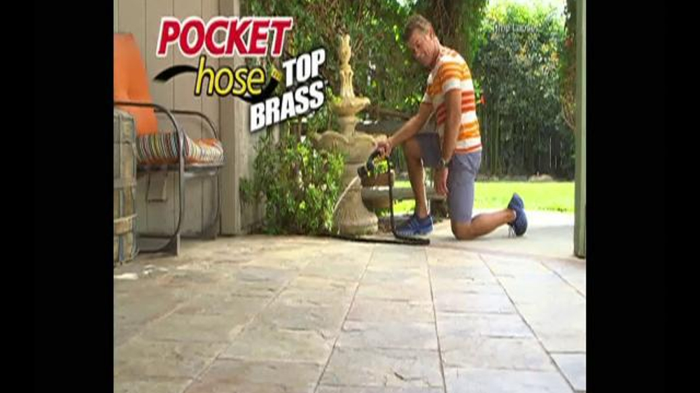 Pocket Hose Top Brass Tv Commercial A Whole Lot Better