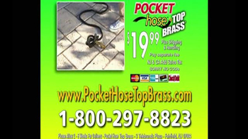 Pocket Hose Top Brass TV Spot, 'A Whole Lot Better' - Thumbnail 10