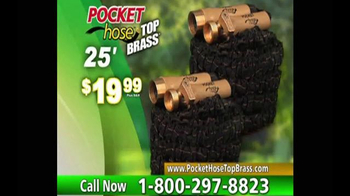 Pocket Hose Top Brass TV Spot, \'A Whole Lot Better\'