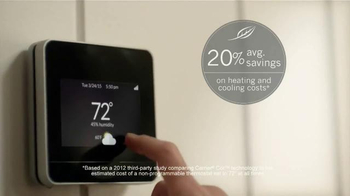 Carrier Corporation Cor TV Spot, 'Smart Thermostat' - Thumbnail 5