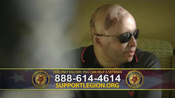 The American Legion TV Spot, 'Staff Sgt. Joel Tavera' - Thumbnail 6