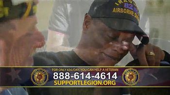 The American Legion TV Spot, 'Staff Sgt. Joel Tavera' - Thumbnail 7