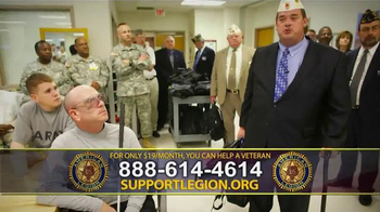 The American Legion TV Spot, 'Staff Sgt. Joel Tavera' - Thumbnail 8
