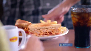 Denny's Sriracha Spicy Super Chick'n TV Spot, 'Picante' [Spanish - Thumbnail 2