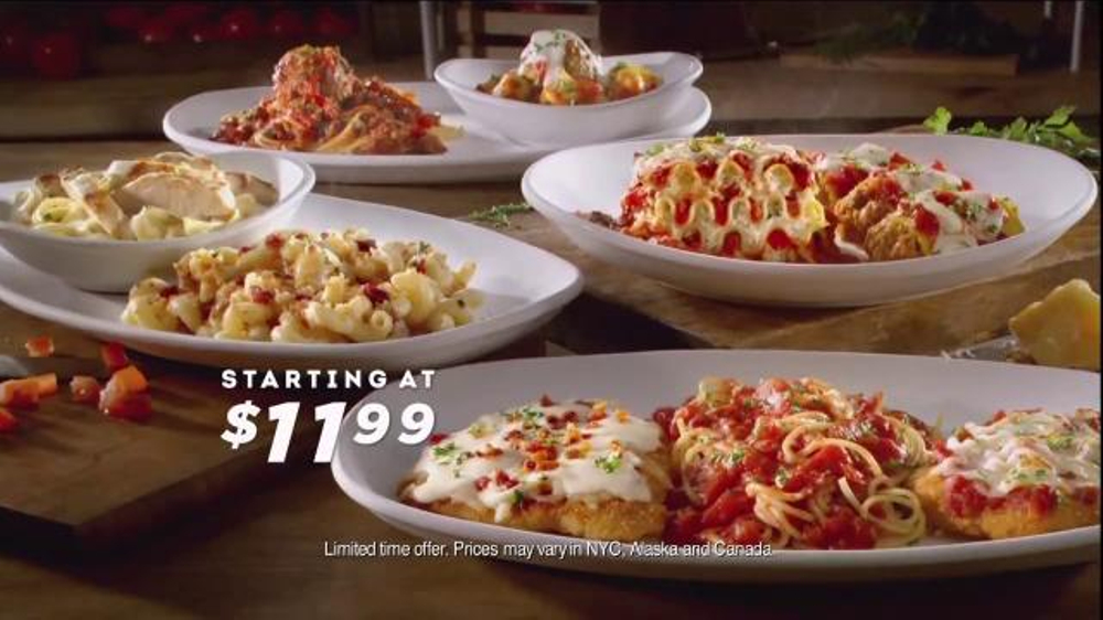 Olive Garden Italian Duos TV Commercial, 'Latest Dish'