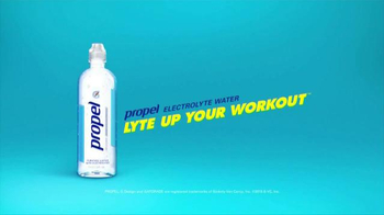 Propel Electrolyte Water TV Spot, 'Cycle' Song by Mark Ronson Ft Bruno Mars - Thumbnail 9