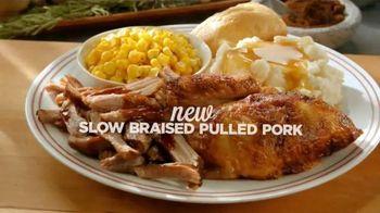 Boston Market TV Spot, 'Slow Braised Pulled Pork'