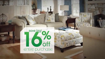 Ashley Furniture Homestore Tax Savings Event TV Spot, 'A Little Relief' - Thumbnail 3