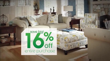 Ashley Furniture Homestore Tax Savings Event TV Spot, 'A Little Relief' - Thumbnail 4