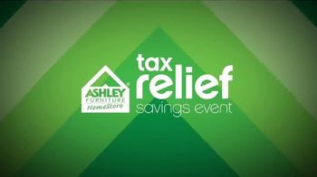 Ashley Furniture Homestore Tax Savings Event TV Spot, 'A Little Relief' - 13 commercial airings