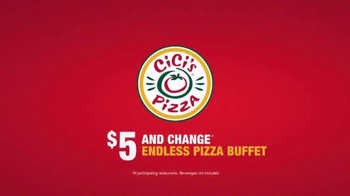 CiCi's Bacon Cheddar Pizza TV Spot, 'Better Than Ever' - Thumbnail 7