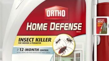 Ortho Home Defense Insect Killer TV Spot, 'More than Roaches' - Thumbnail 10