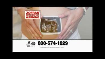 Zofran Justice TV Spot, 'Zofran Birth Defect Warning'
