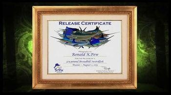 King Sailfish Mounts TV Spot, 'Release Certificate'