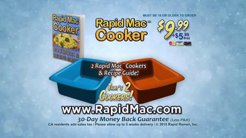 Rapid Mac Cooker TV Spot, 'Nothing Can Please Like Mac and Cheese' - Thumbnail 10