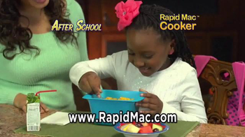 Rapid Mac Cooker TV Spot, 'Nothing Can Please Like Mac and Cheese' - Thumbnail 7