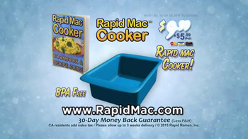 Rapid Mac Cooker TV Spot, 'Nothing Can Please Like Mac and Cheese' - Thumbnail 9